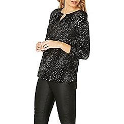 Dorothy Perkins - **Billie & Blossom silver star trim blouse