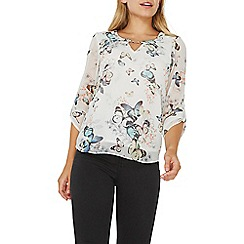 Dorothy Perkins - **Billie & Blossom ivory butterfly print blouse