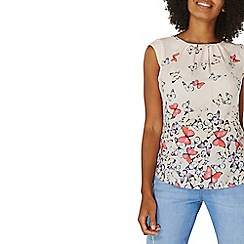Dorothy Perkins - **Billie & Blossom pink butterfly print shell top