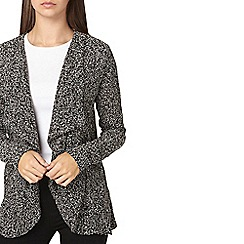 Dorothy Perkins - **Billie & Blossom tall grey waterfall cardigan