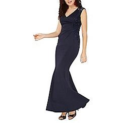 Dorothy Perkins - Scarlet b navy sequin jasmin maxi dress