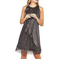 Dorothy Perkins - **Billie & Blossom silver trapeze dress