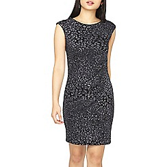 Dorothy Perkins - **billie & blossom black petite animal design bodycon dress