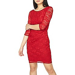 Dorothy Perkins - **billie & blossom petite red lace bodycon dress