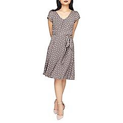 Dorothy Perkins - **billie & blossom petite grey heart skater dress