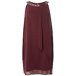 Dorothy Perkins - **billie & blossom curve purple trapeze dress