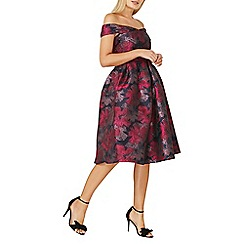 Dorothy Perkins - **Luxe pink floral bardot dress