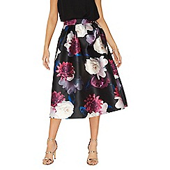 Dorothy Perkins - **Luxe multi coloured floral print prom skirt