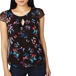 Dorothy Perkins - **Billie & Blossom petite butterfly shell top