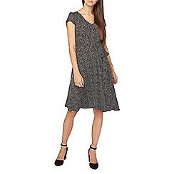 Dorothy Perkins - **Billie & Blossom tall black spot print dress