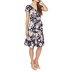 Dorothy Perkins - **Billie & Blossom tall navy floral print skater dress