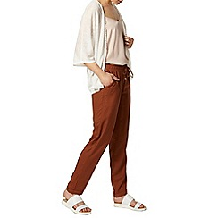 Dorothy Perkins - Ginger spun jogger with channel waist