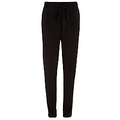 Dorothy Perkins - Tall black plain joggers