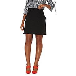Dorothy Perkins - Black mini ruffle skirt
