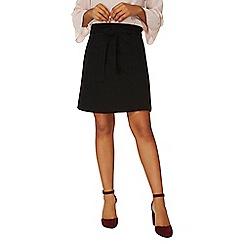 Dorothy Perkins - Black tie ponte a-line skirt