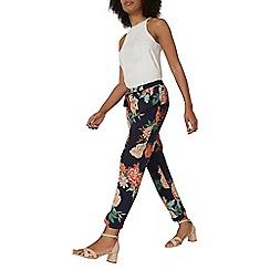 Dorothy Perkins - Navy oriental print trousers