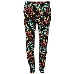 Dorothy Perkins - Tall: floral cotton crop trousers