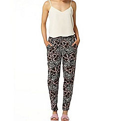Dorothy Perkins - Paisley channel tie waist jogger