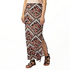 Dorothy Perkins - Scarf patchwork printed maxi skirt