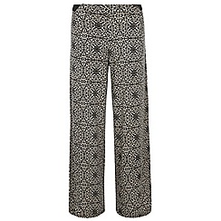 Dorothy Perkins - Monochrome printed baroque palazzo trouser