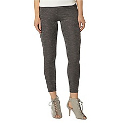 Dorothy Perkins - Grey marl rib leggings