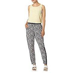 Dorothy Perkins - Navy mix and match joggers