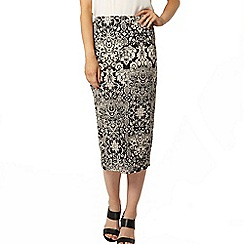 Dorothy Perkins - Stone baroque printed tube skirt