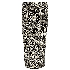 Dorothy Perkins - Tall baroque printed tube skirt