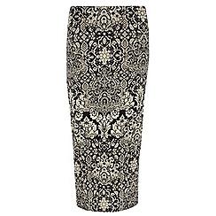 Dorothy Perkins - Tall baroque printed tube skirt