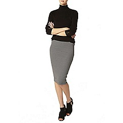 Dorothy Perkins - Tall mono geo pencil skirt