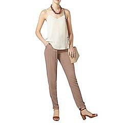 Dorothy Perkins - Tall mink twill joggers