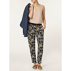 Dorothy Perkins - Blue ditsy floral joggers