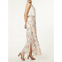 Dorothy Perkins - Floral woven maxi skirt
