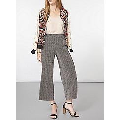 Dorothy Perkins - Mono plisse crop trouser