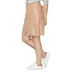 Dorothy Perkins - Nude a-line skirt