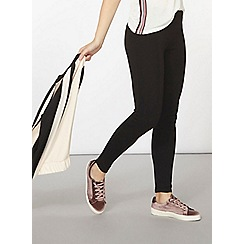 Dorothy Perkins - Black curve seam treggings