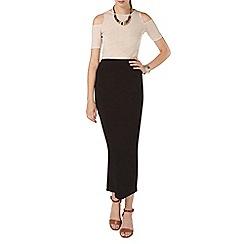 Dorothy Perkins - Tall black high waisted tube skirt