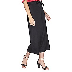 Dorothy Perkins - Tall black culotte trousers
