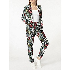 Dorothy Perkins - Pink and green floral jogger
