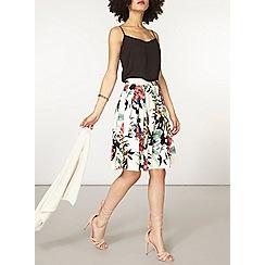 Dorothy Perkins - Floral cotton full skirt