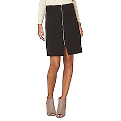 Dorothy Perkins - Black ponte a-line skirt