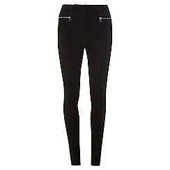 Dorothy Perkins - Black elasticated treggings
