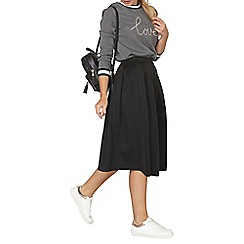 Dorothy Perkins - Black scuba full skirt