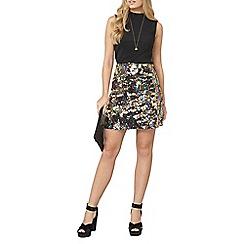 Dorothy Perkins - Gold sequin mini skirt