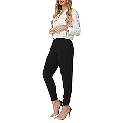 Dorothy Perkins - Black woven trousers