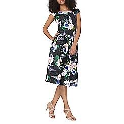 Dorothy Perkins - Black floral coord full skirt