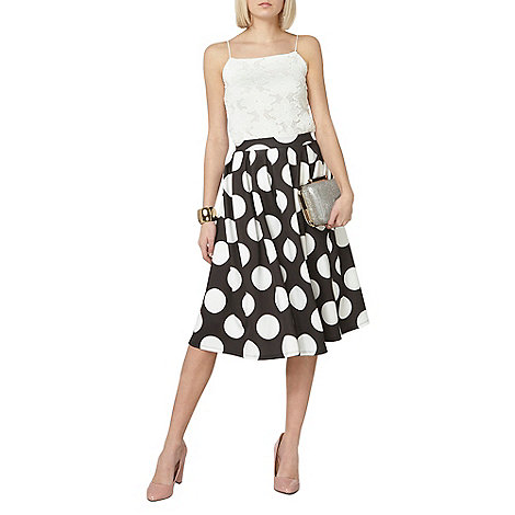 Dorothy Perkins - Spot scuba full skirt