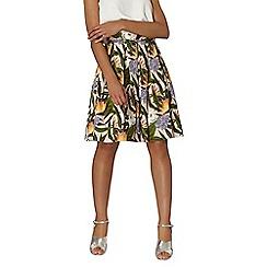 Dorothy Perkins - Pink tropical print skirt