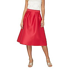 Dorothy Perkins - Pink satin full skirt