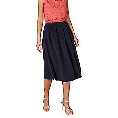 Dorothy Perkins - Navy scuba full skirt